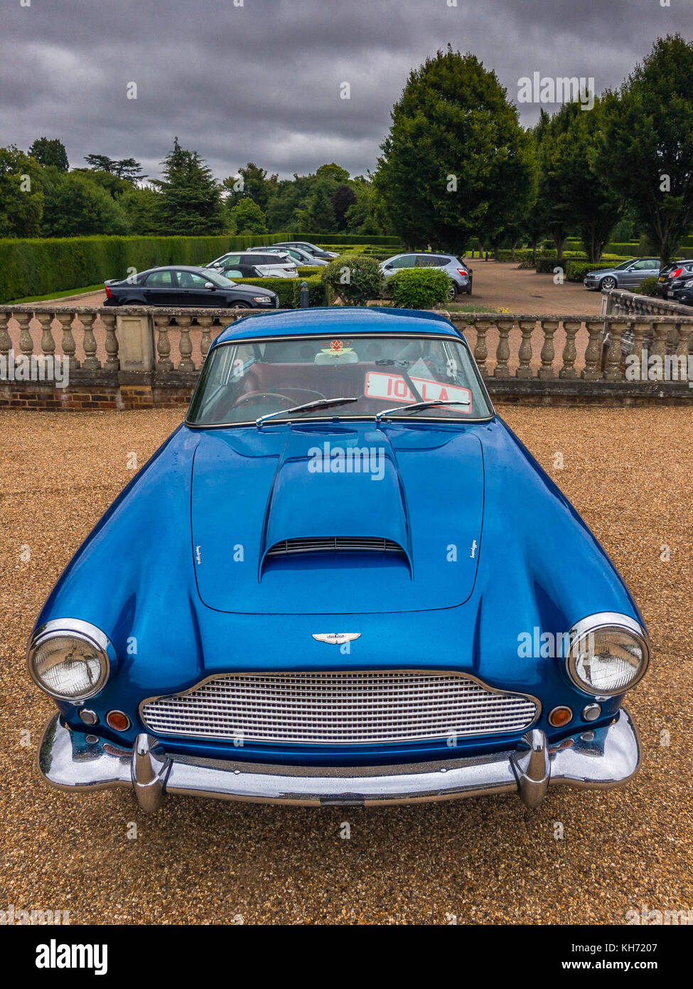 Aston Martin in Hedsor, England - Stock Image