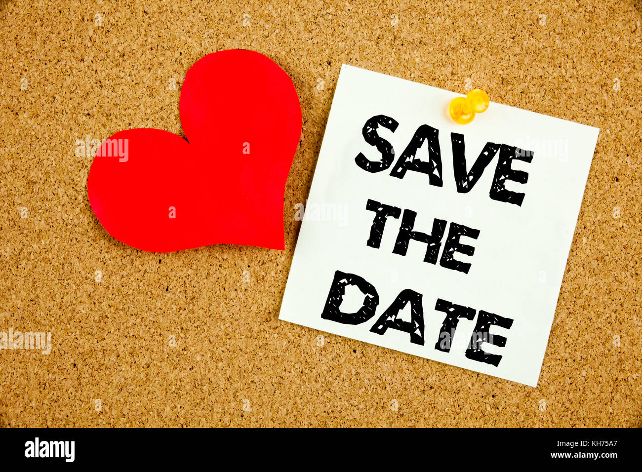Conceptual hand writing text caption inspiration showing Save The Date concept meaning Love Special Day and Greeting Stock Photo