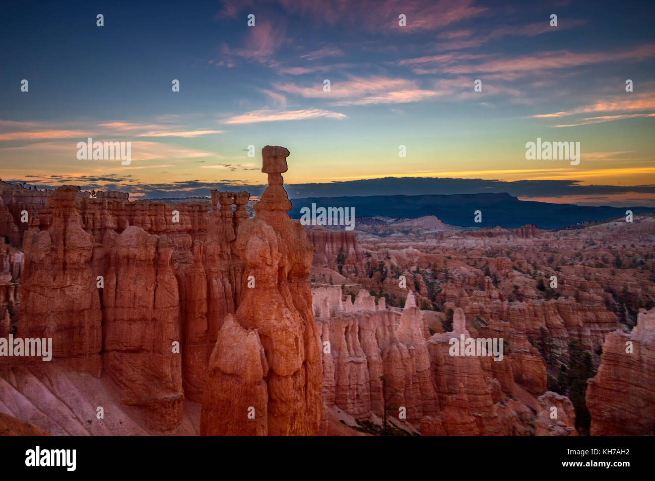 Bryce Canyon - Utah - Stock Image