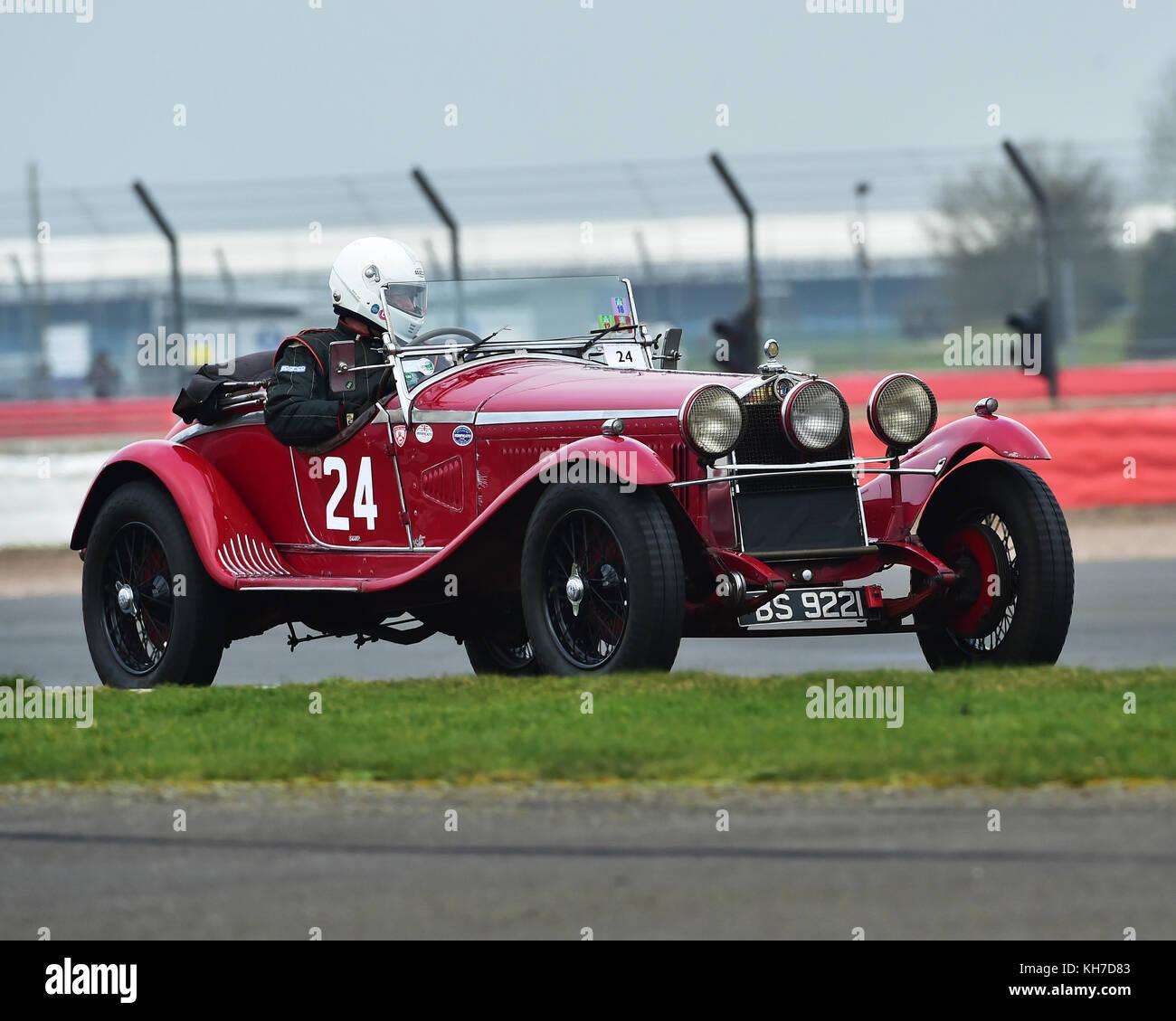 Alfa Romeo 6c 1750 Zagato Stock Photos & Alfa Romeo 6c