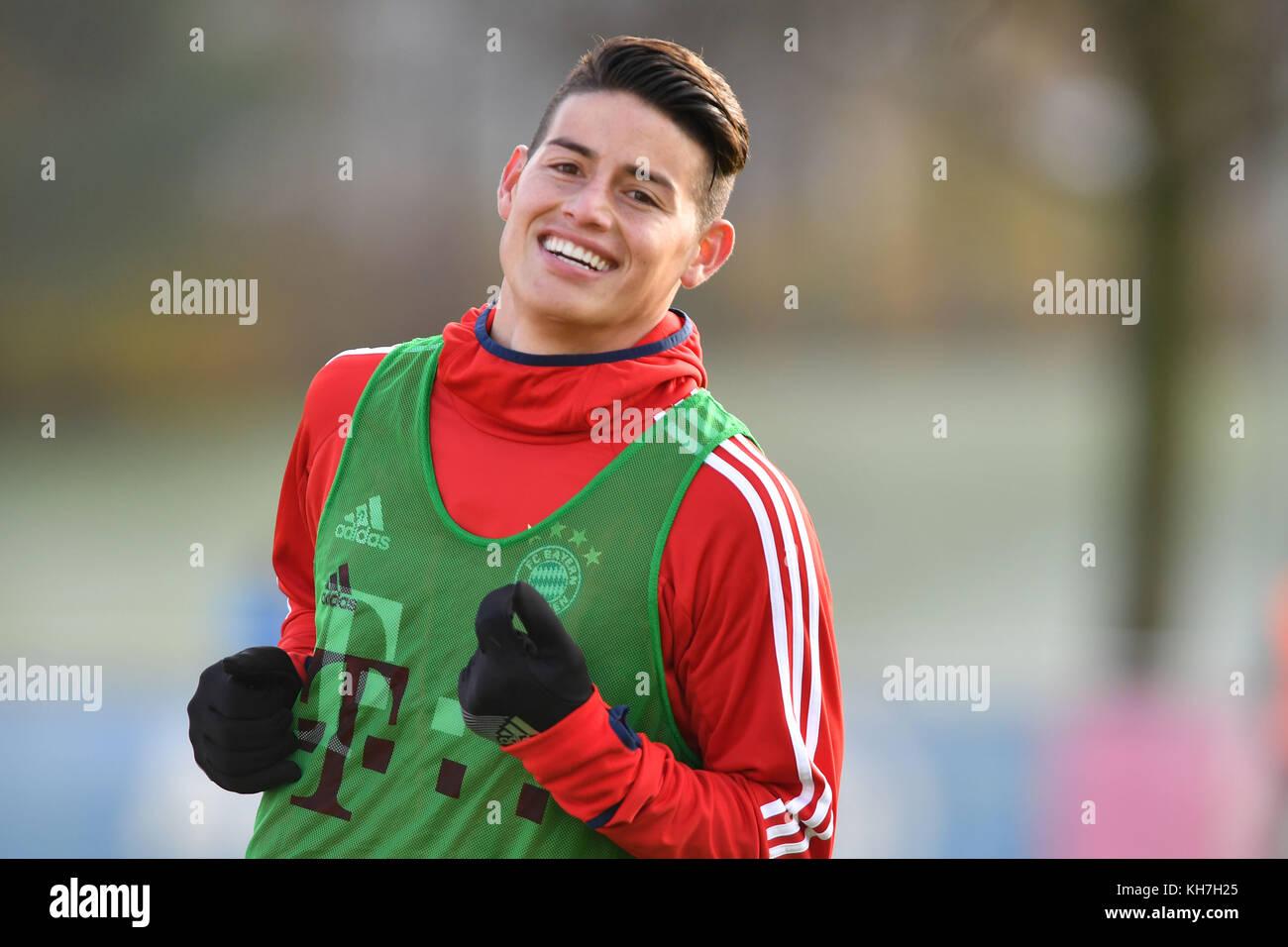 Muenchen Deutschland 14th Nov 2017 James RODRIGUEZ FC Bayern Munich