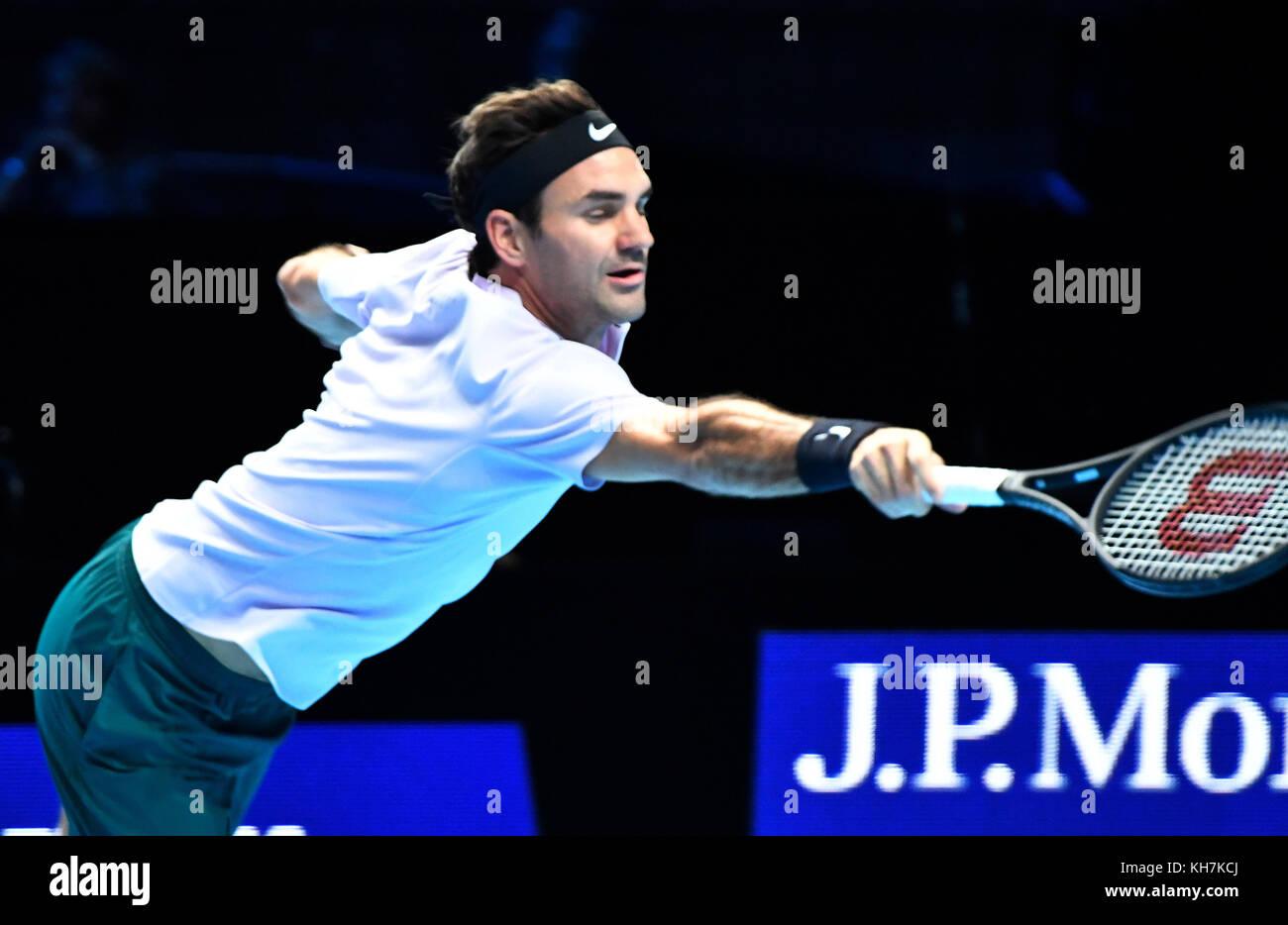 14 11 2017 Atp World Tour Finals At O2 Arena London Uk Roger Federer