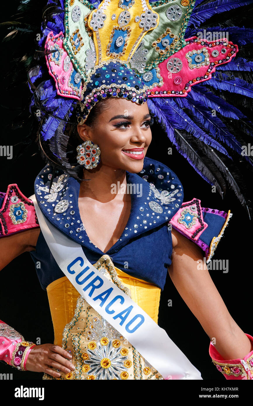 Tokyo, Japan  14th November, 2017  Miss Curacao Chanelle Wilhelmina