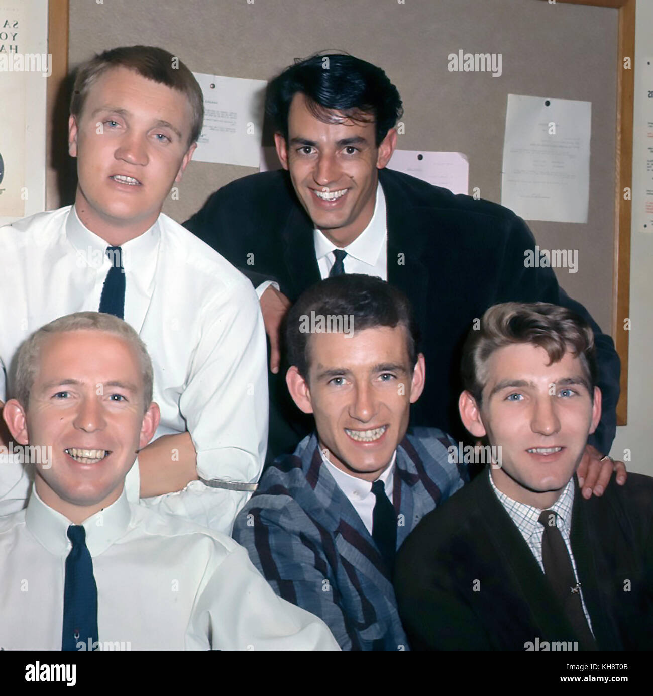 BARRON KNIGHTS UK pop group in July 1964. Photo: Tony Gale - Stock Image