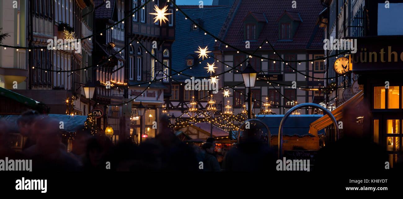 Wernigerode Weihnachtsmarkt - Stock Image