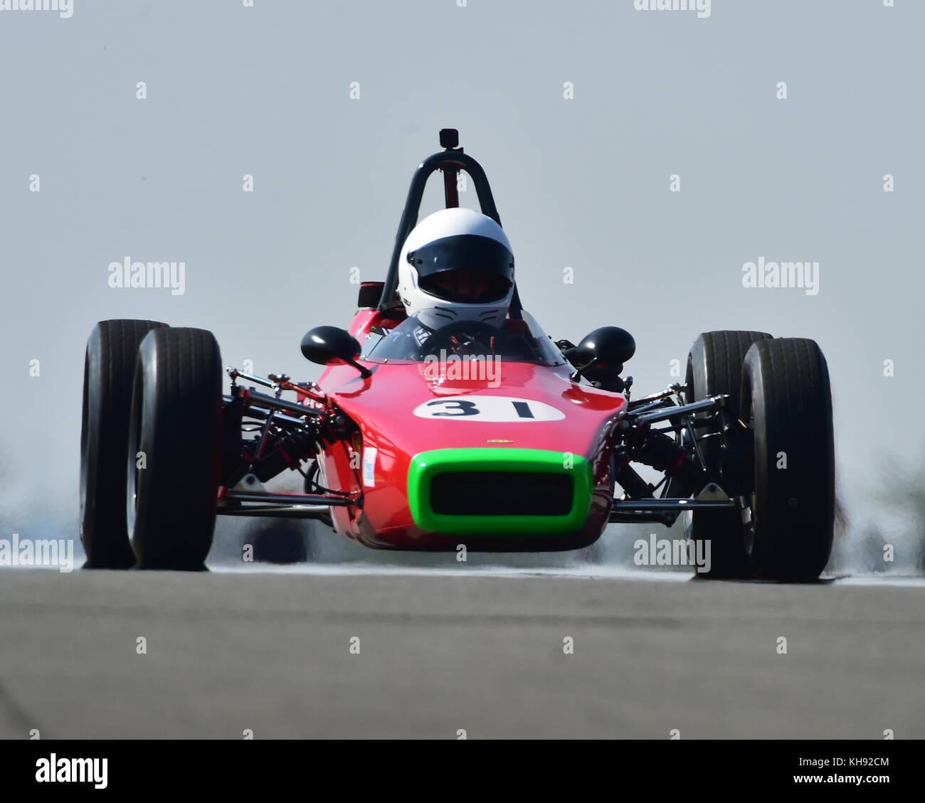 John Emery, Lola T200, Historic Formula Ford, HSCC, Season Opener, Saturday, 8th April 2017, Donington Park, Chris - Stock Image