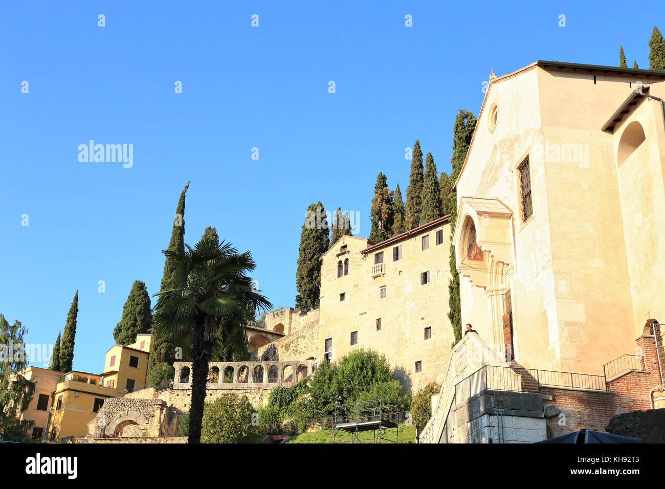 Saint Peter's Hill - Colle San Pietro - Stock Image