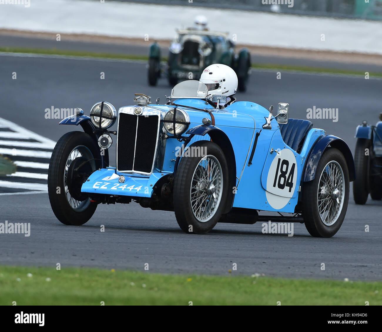 Simon Jackson, MG PB, Standard & Modified Pre-war Sports Cars, VSCC ...