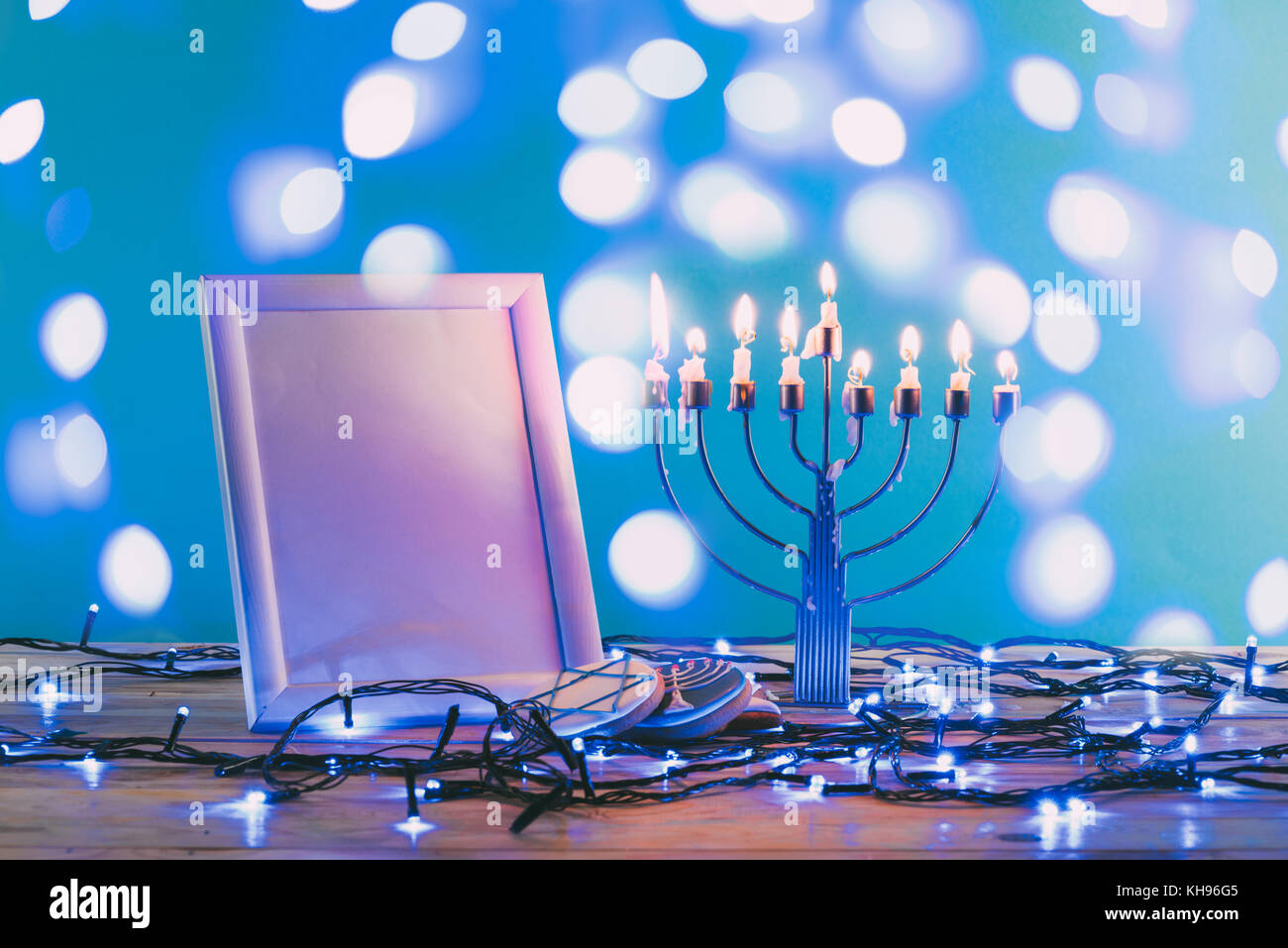hanukkah holiday Stock Photo