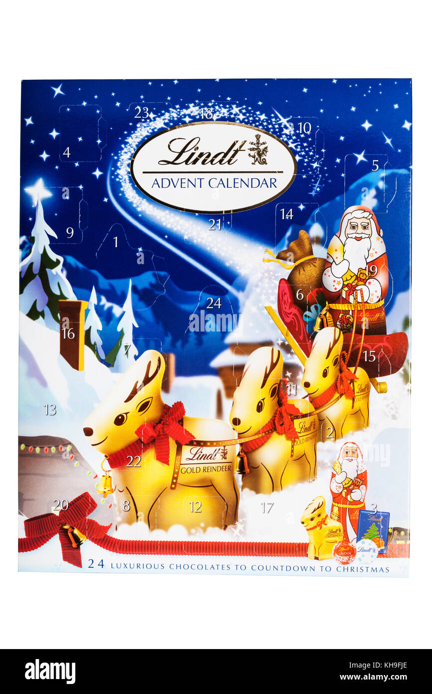Advent Calendar Chocolate Stock Photos Advent Calendar