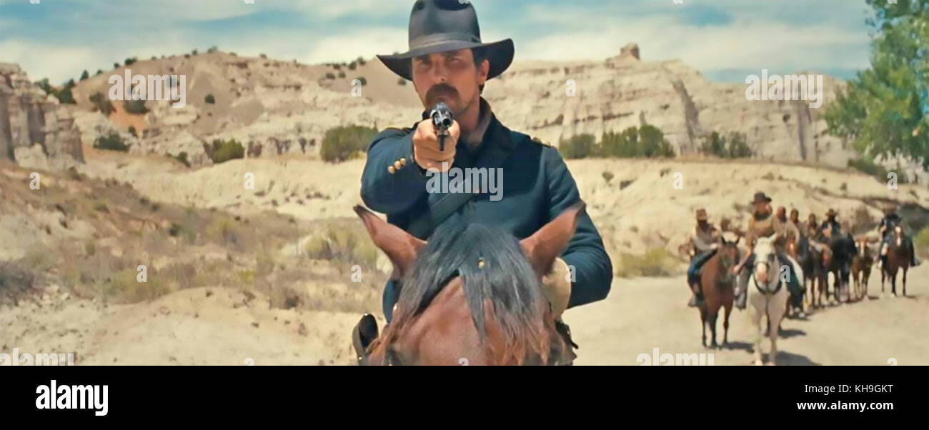 HOSTILES 2017 Entertainment Studios film with Christian Bale - Stock Image