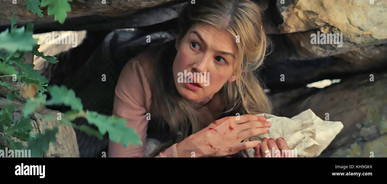 HOSTILES 2017 Entertainment Studios film with Rosamund Pike - Stock Image