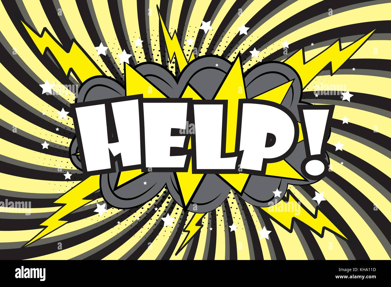 HELP Comic sound effects in pop art style  Burst best graphic effect