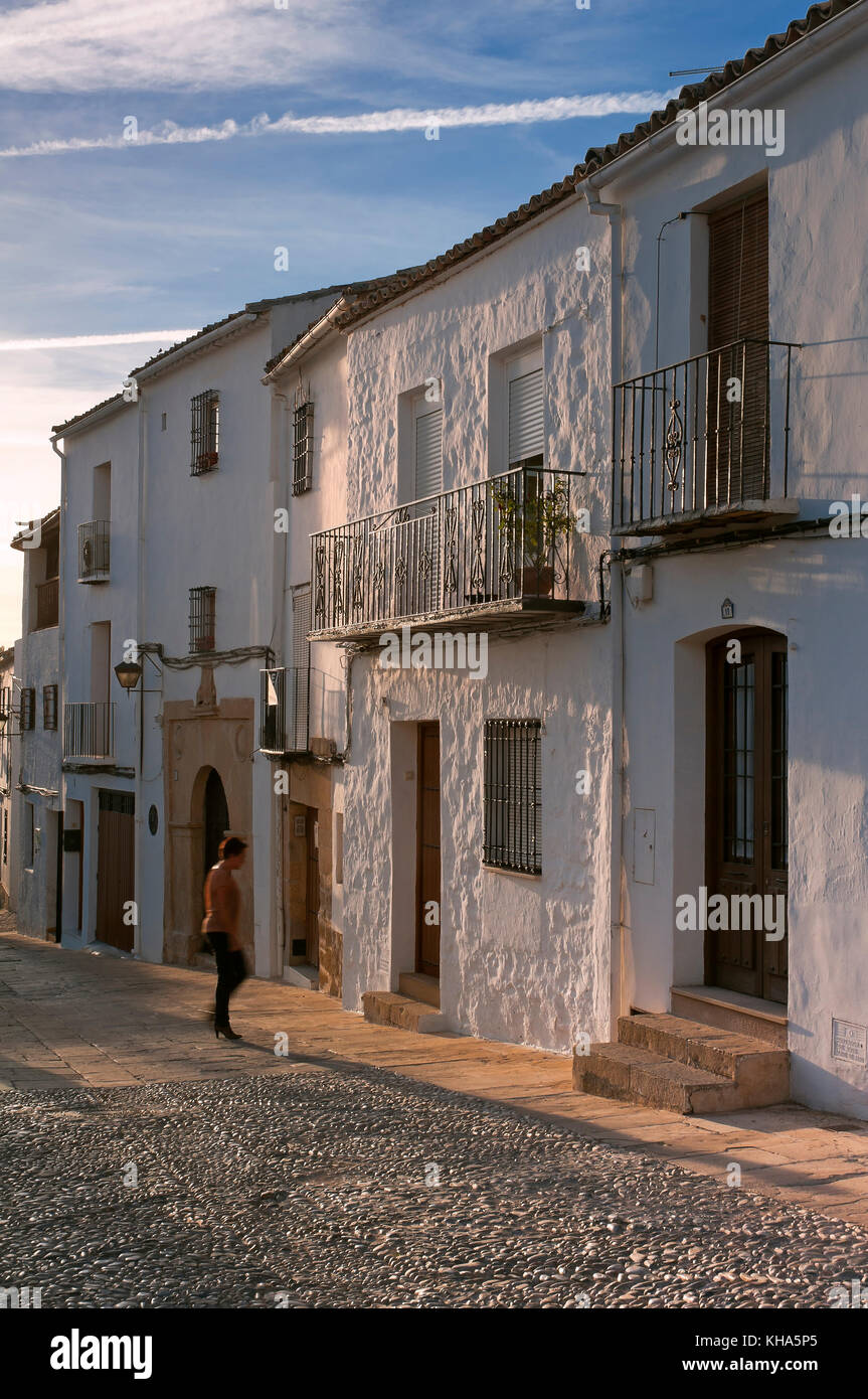 Urban view, Ubeda, Jaen province, Region of Andalusia, Spain, Europe - Stock Image