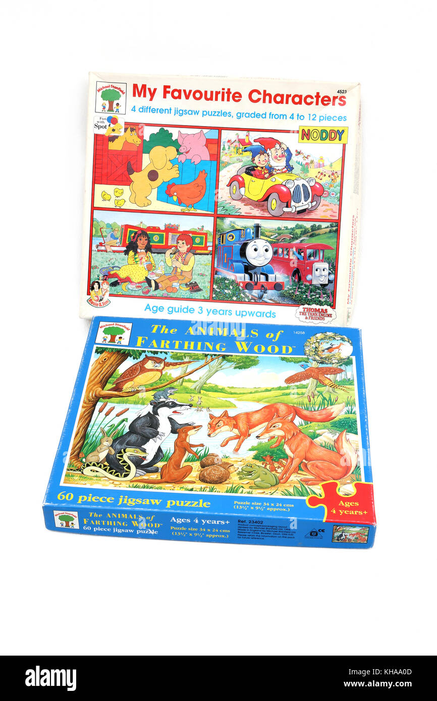 Children's Jigsaw Puzzles- My Favourite characters