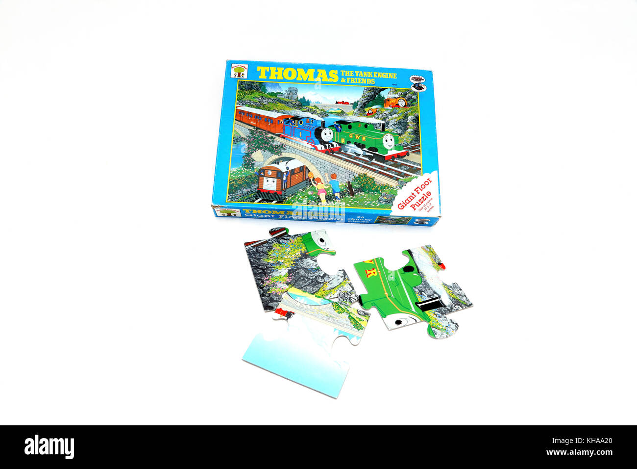 Thomas The Tank Engine And Friends Giant Floor Jigsaw Puzzle