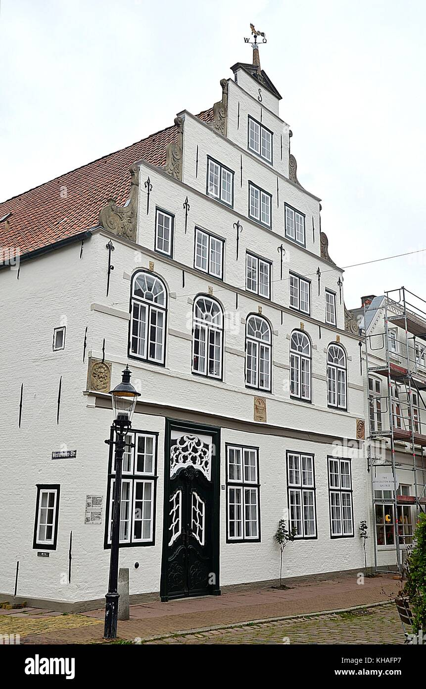 Old building in Friedrichstadt, Germany Stock Photo
