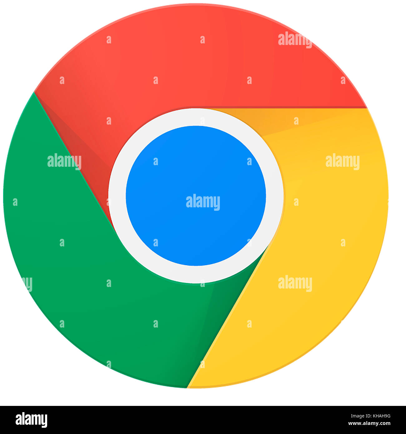 Google Chrome Logo, Web Browser from Google - Stock Image