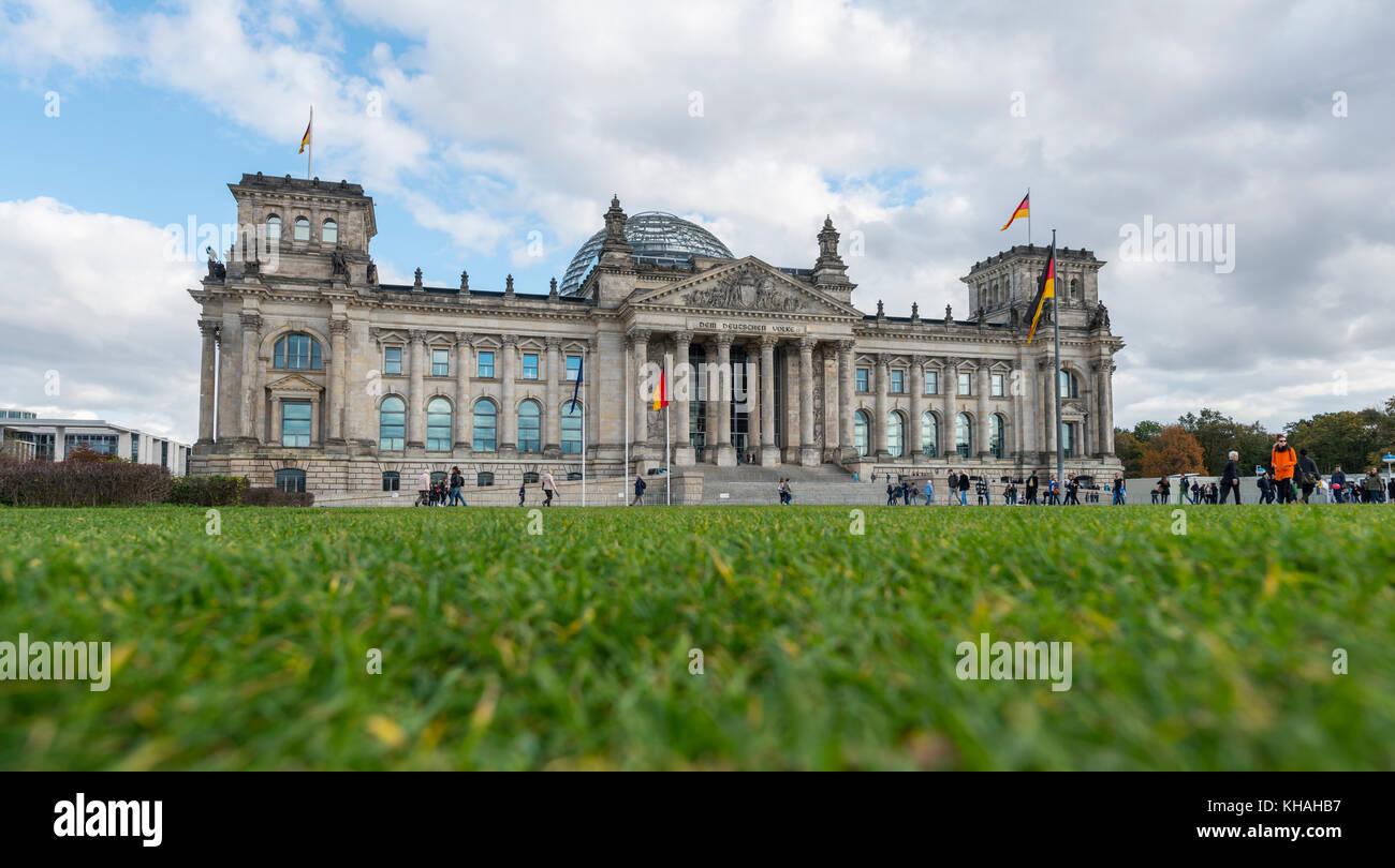 German Bundestag, Berlin, Germany - Stock Image