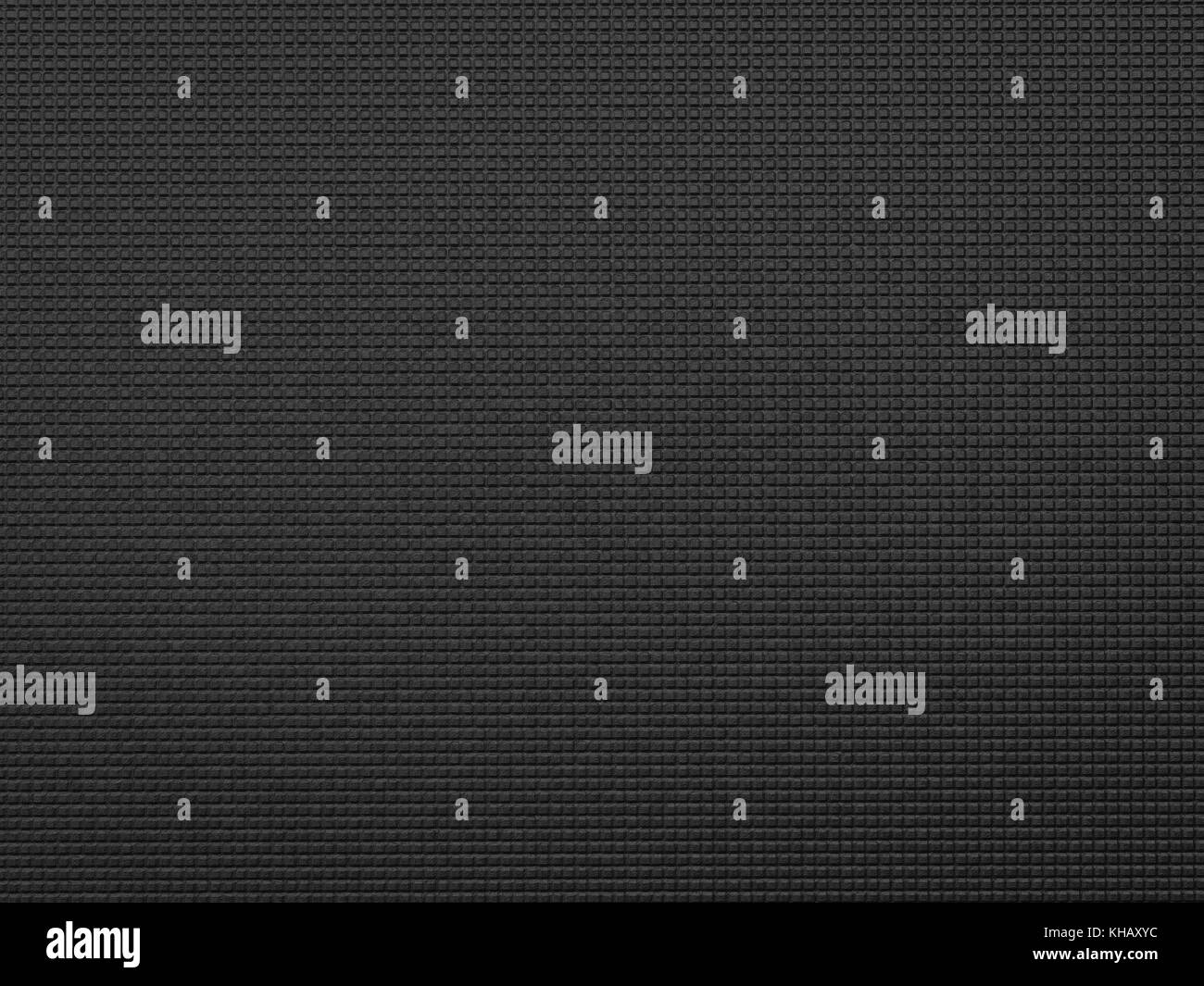 3d Rendering Black Yoga Mat Background Or Top View