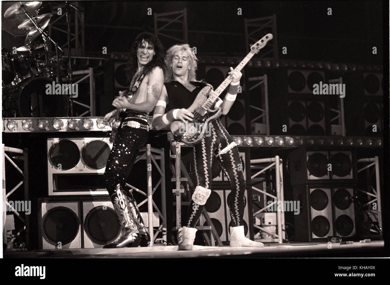 David Lee Roth Band High Resolution Stock Photography And Images Alamy