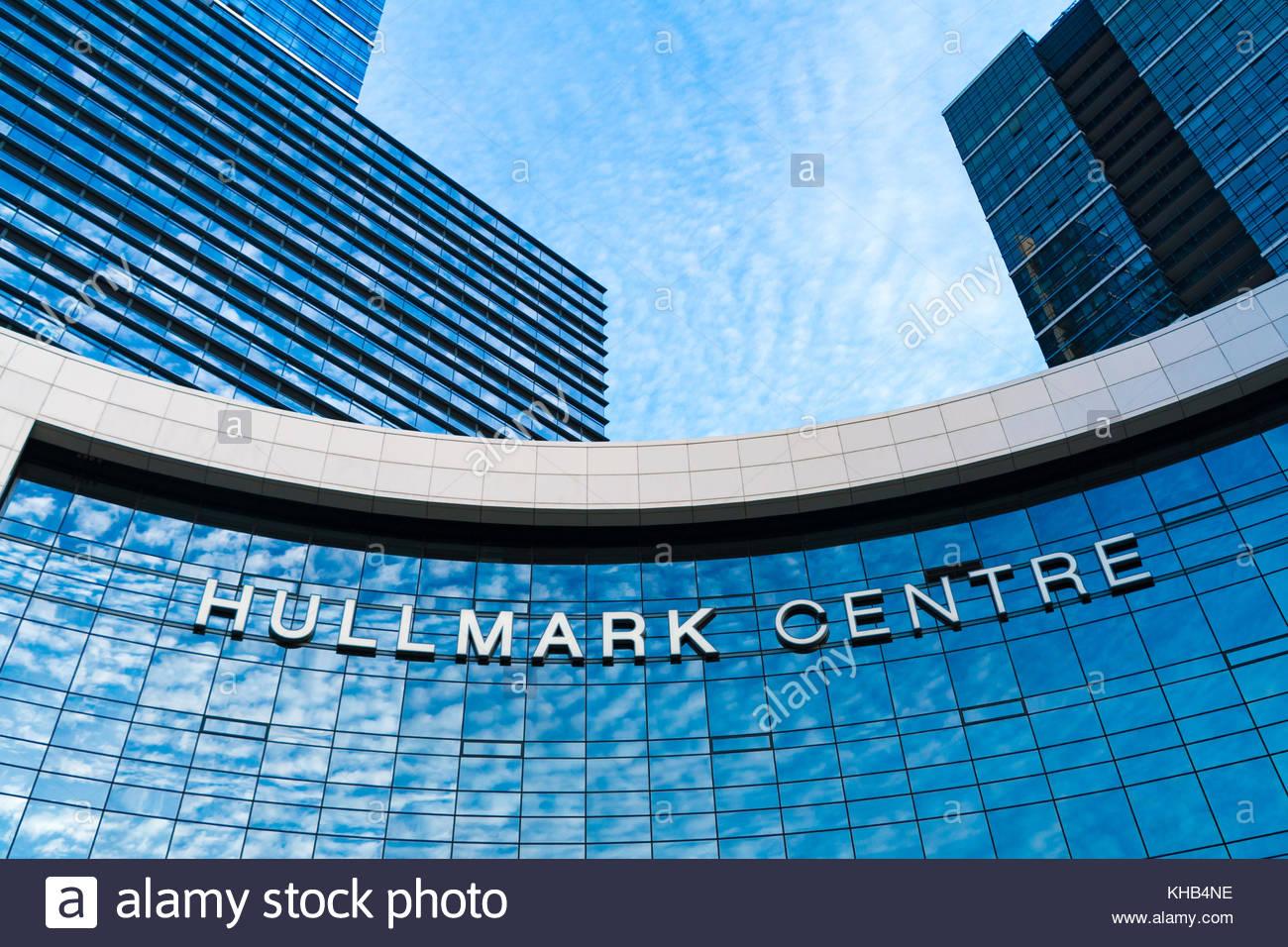 Hullmark Centre in Yonge Street, modern architecture