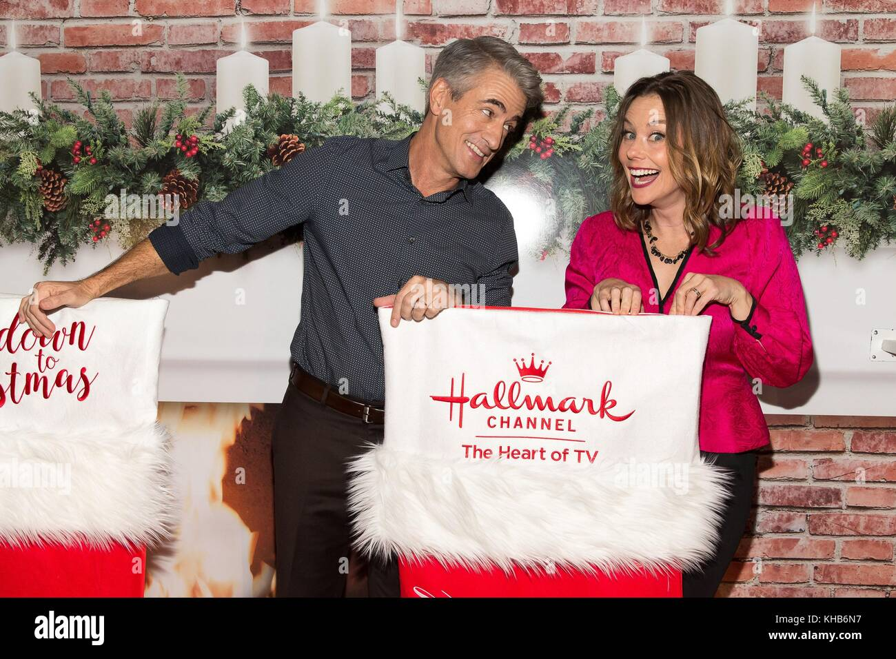 Hallmark Channels Countdown To Christmas Museum Opening Night Party ...