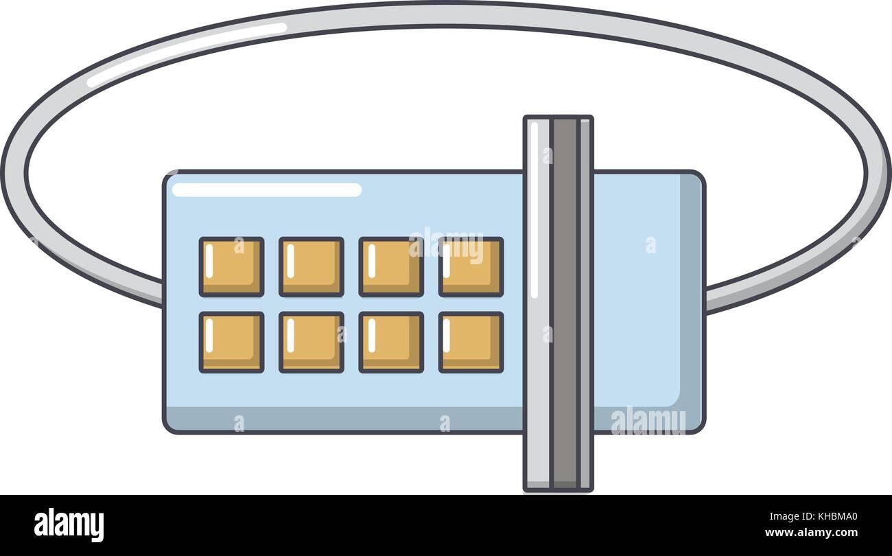 Lock Code Icon Cartoon Style Stock Vector Image Art Alamy