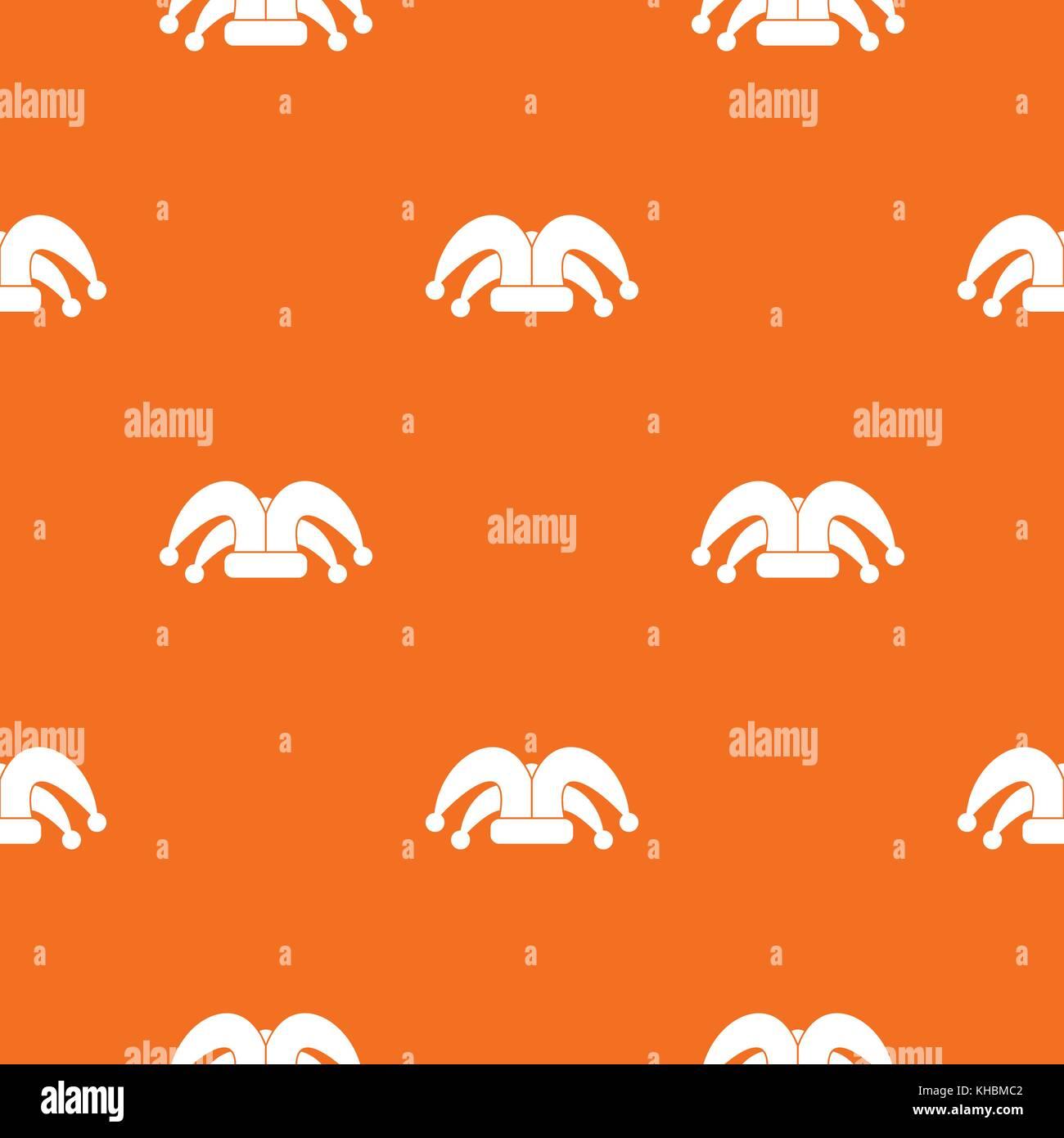 Clown hat pattern seamless Stock Vector Art   Illustration d2cccb700c1