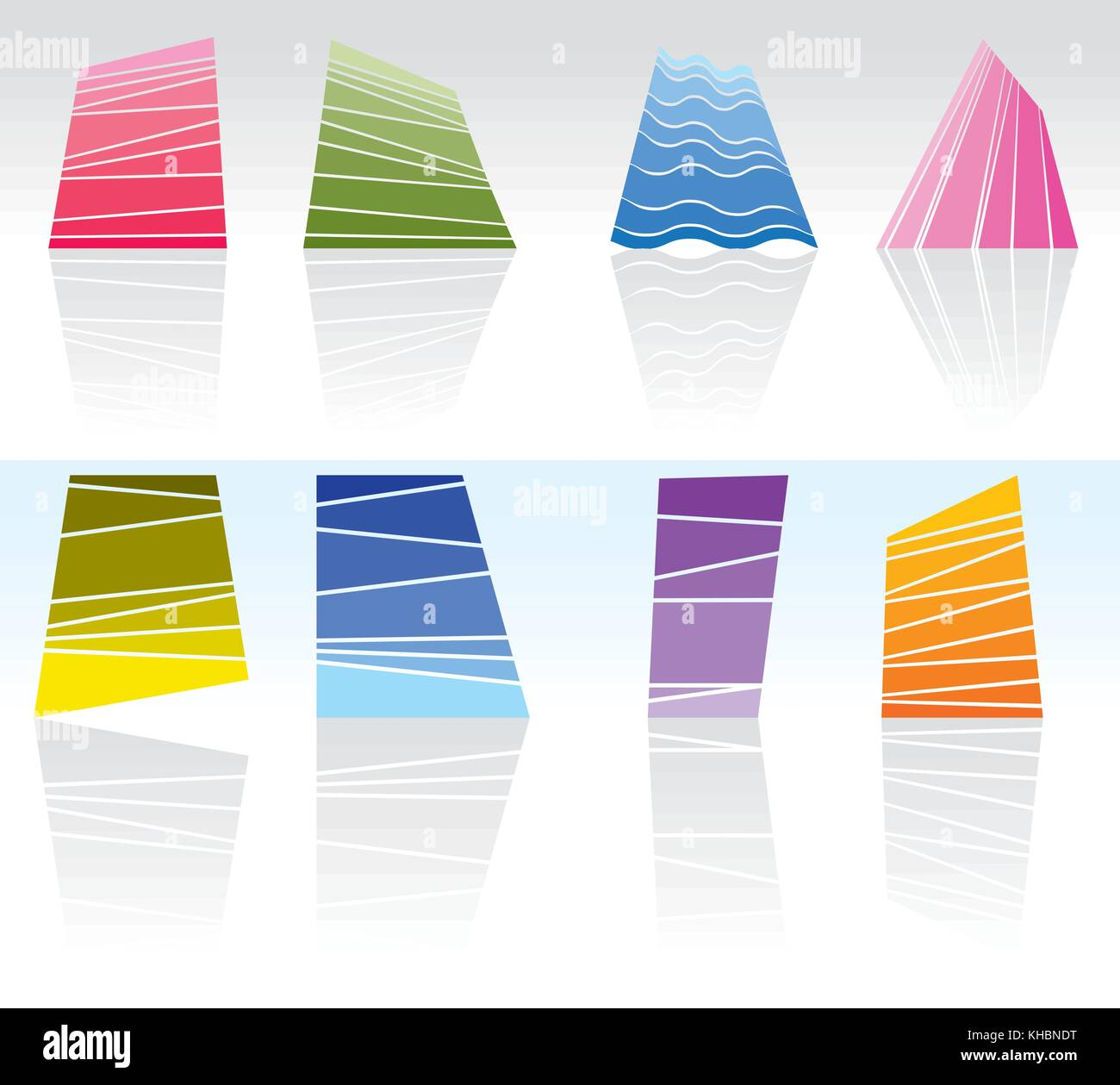 abstract and  pattern vector design - vector illustration - Stock Image
