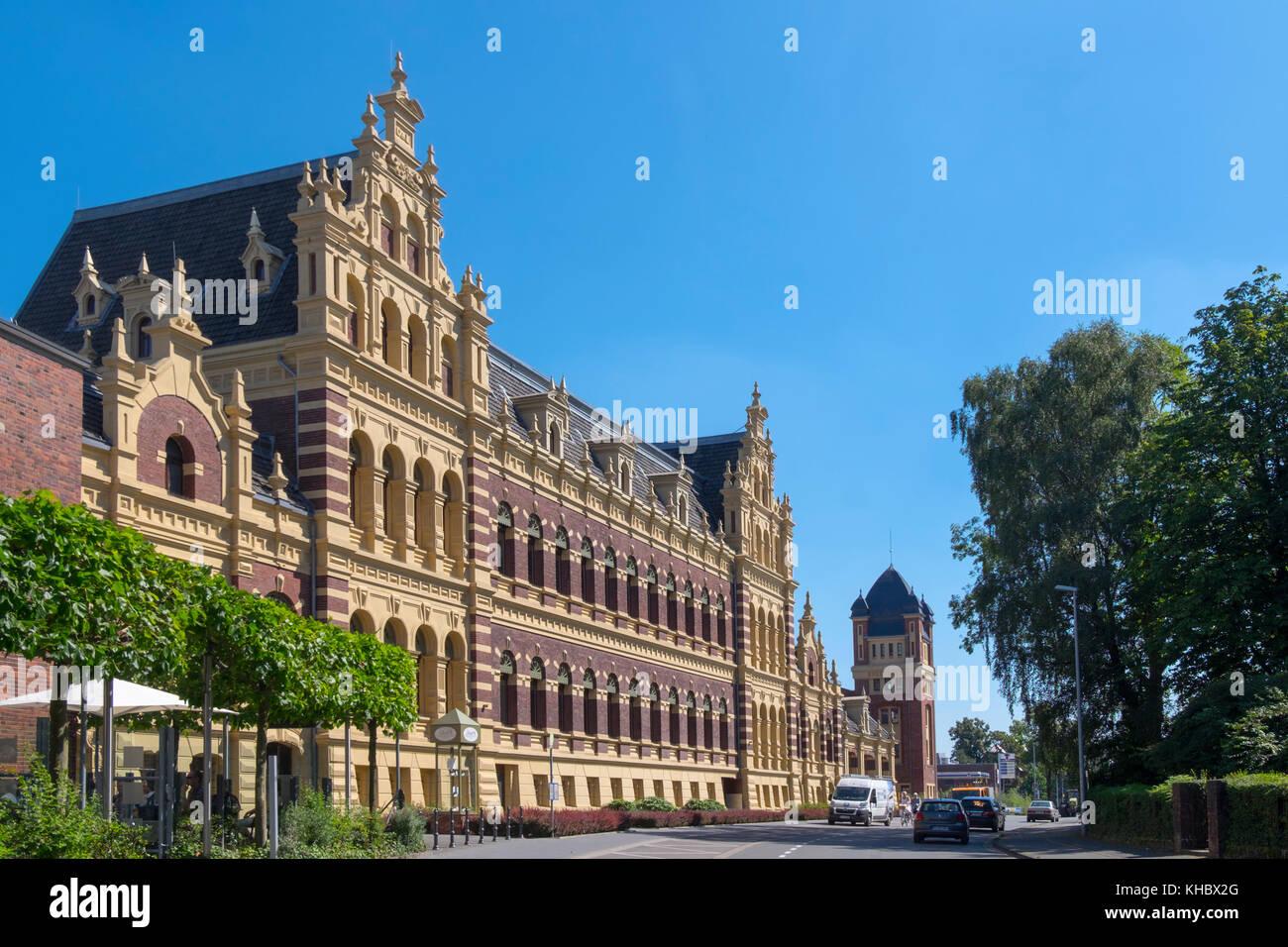 Beltman building, Dutch Renaissance, architect Gerrit Beltman, Münsterland, North Rhine-Westphalia, Germany - Stock Image