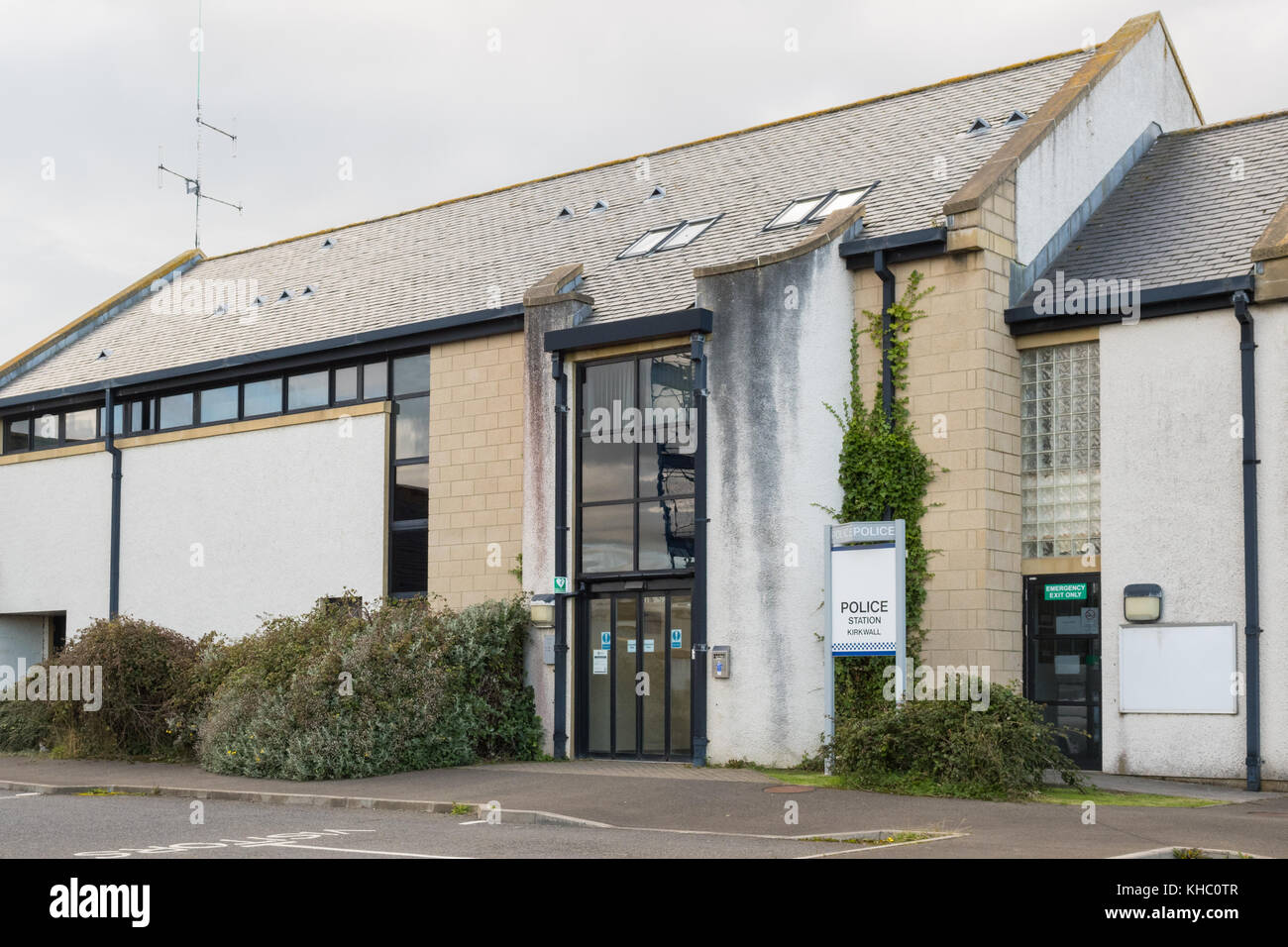 police station, Kirkwall, Orkney, Scotland, UK Stock Photo