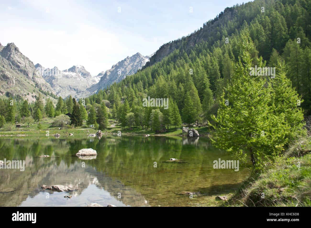 Vallée de la Gordolasque in Mercantour *** Local Caption *** France, Alpes du Sud, Mercantour, alps, mountains, Stock Photo