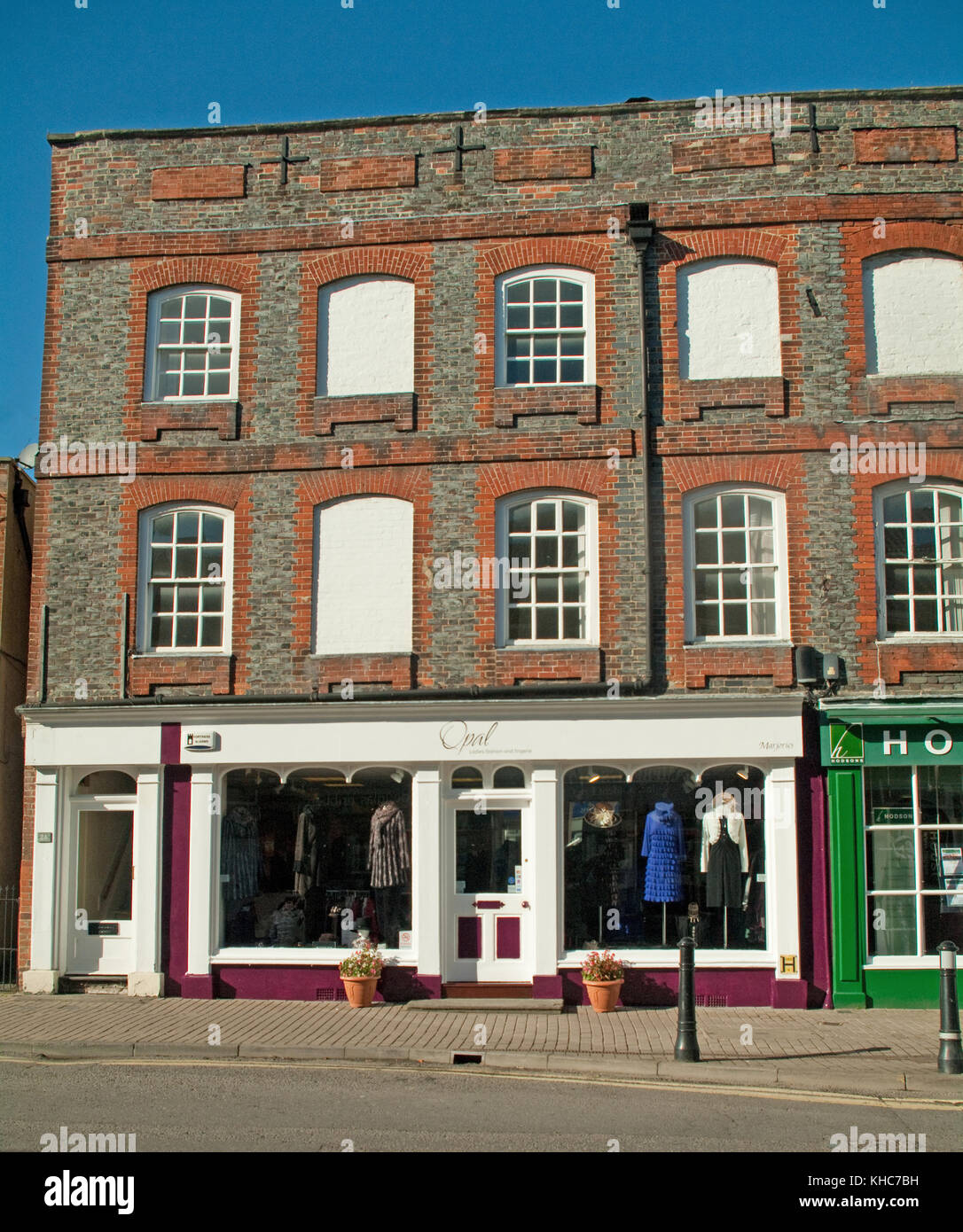 Wantage, Clothes Shop, High Street, Oxfordshire, - Stock Image