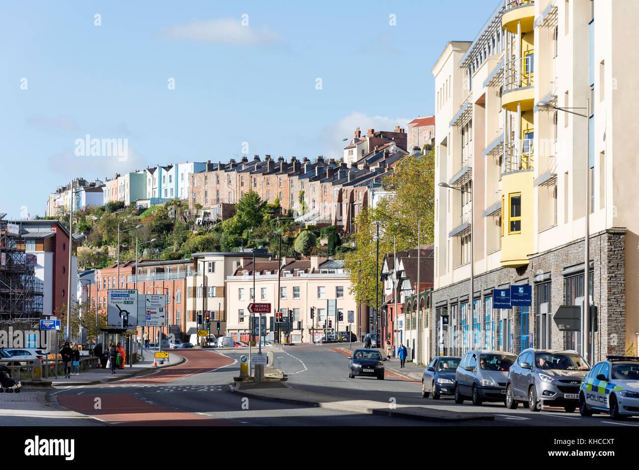 Anchor Road, Harbourside, Bristol, England, United Kingdom - Stock Image