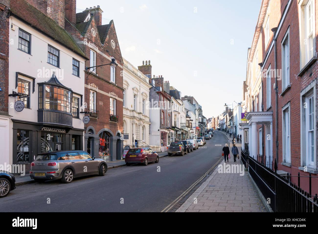 Lewes High Street Lewes East Sussex England United