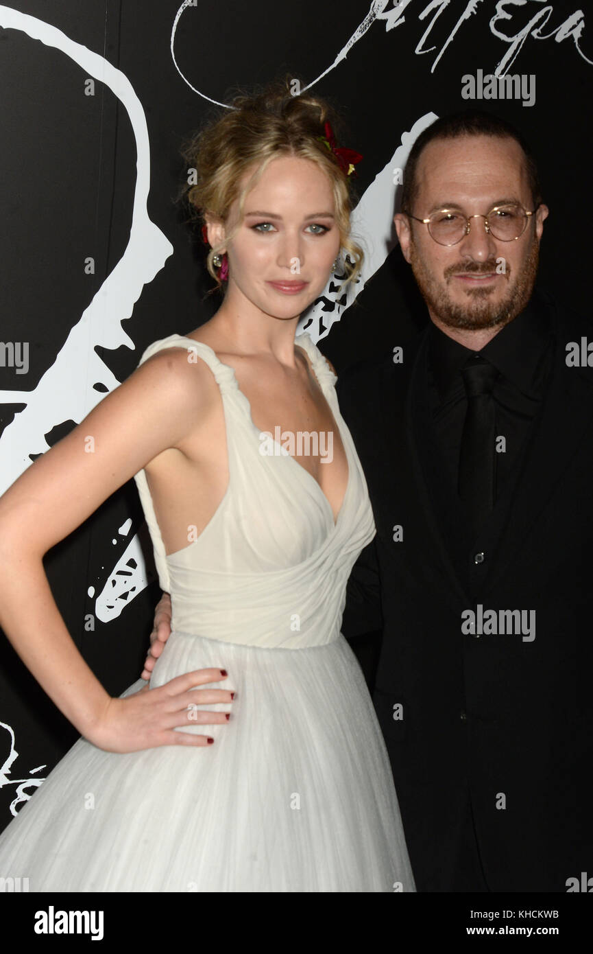 NEW YORK, NY - SEPTEMBER 13: Jennifer Lawrence attends 'mother!' New York Premiere at Radio City Music Hall - Stock Image