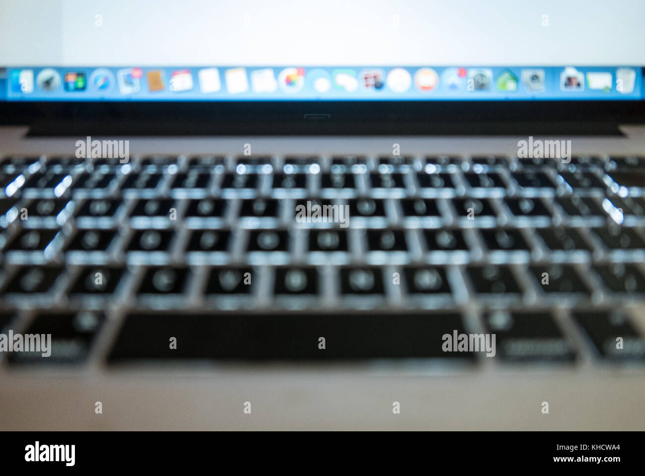 Mac pro laptop keyboard and screen shot slightly out of focus stock mac pro laptop keyboard and screen shot slightly out of focus ccuart Gallery