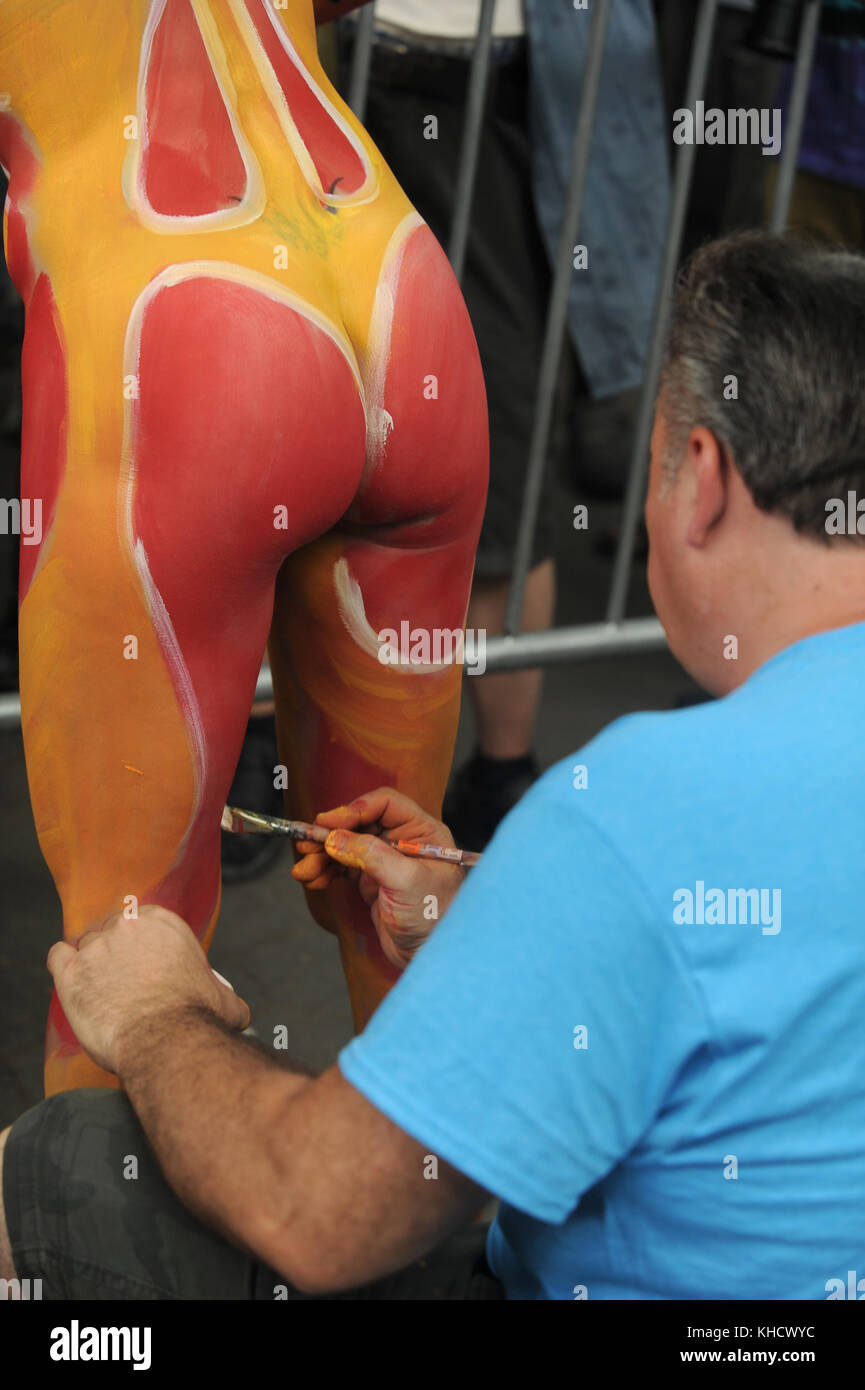NYC Body Painting Day 2017 - Photos - NYC Body Painting