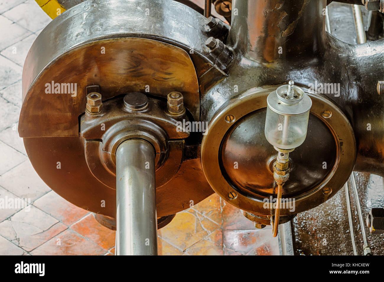 Hüttenmuseum Thale Dampfmaschine Nr. 7 - Stock Image