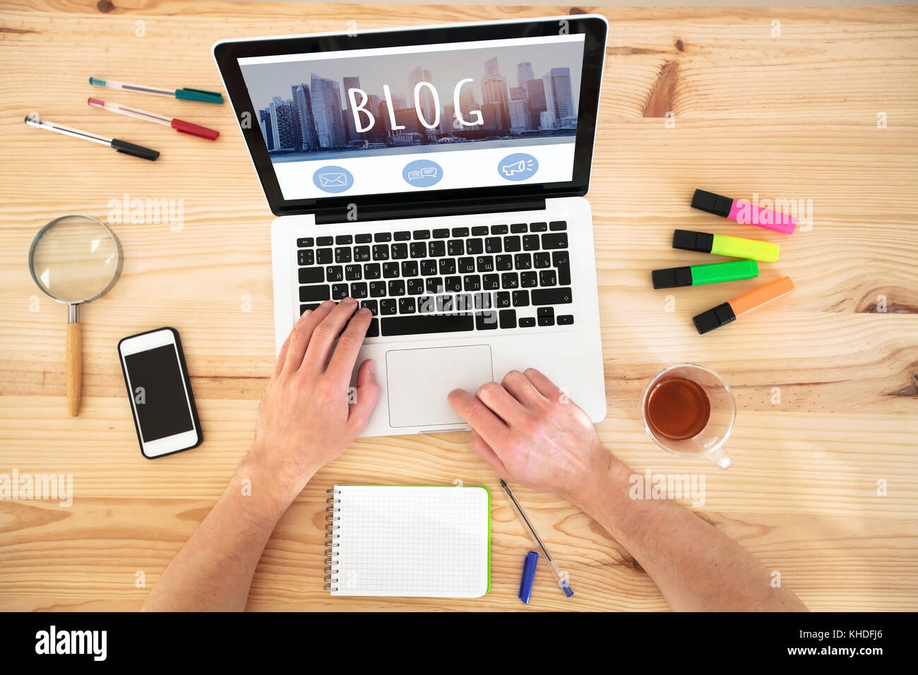 blog writing meaning