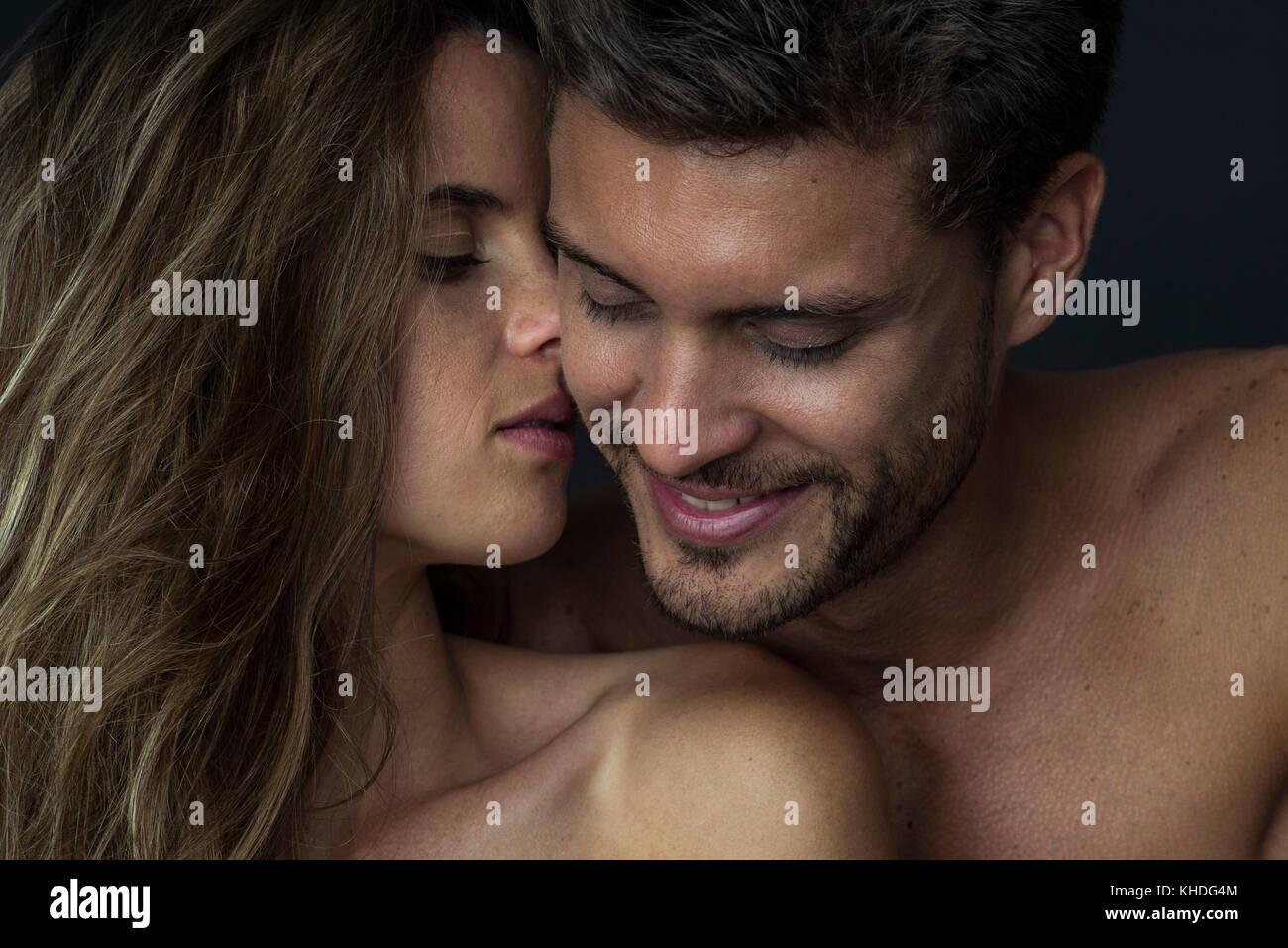Affectionate couple Stock Photo