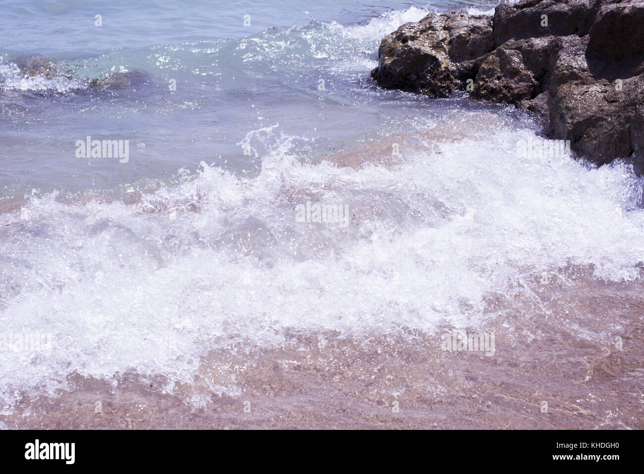 Water's edge Stock Photo
