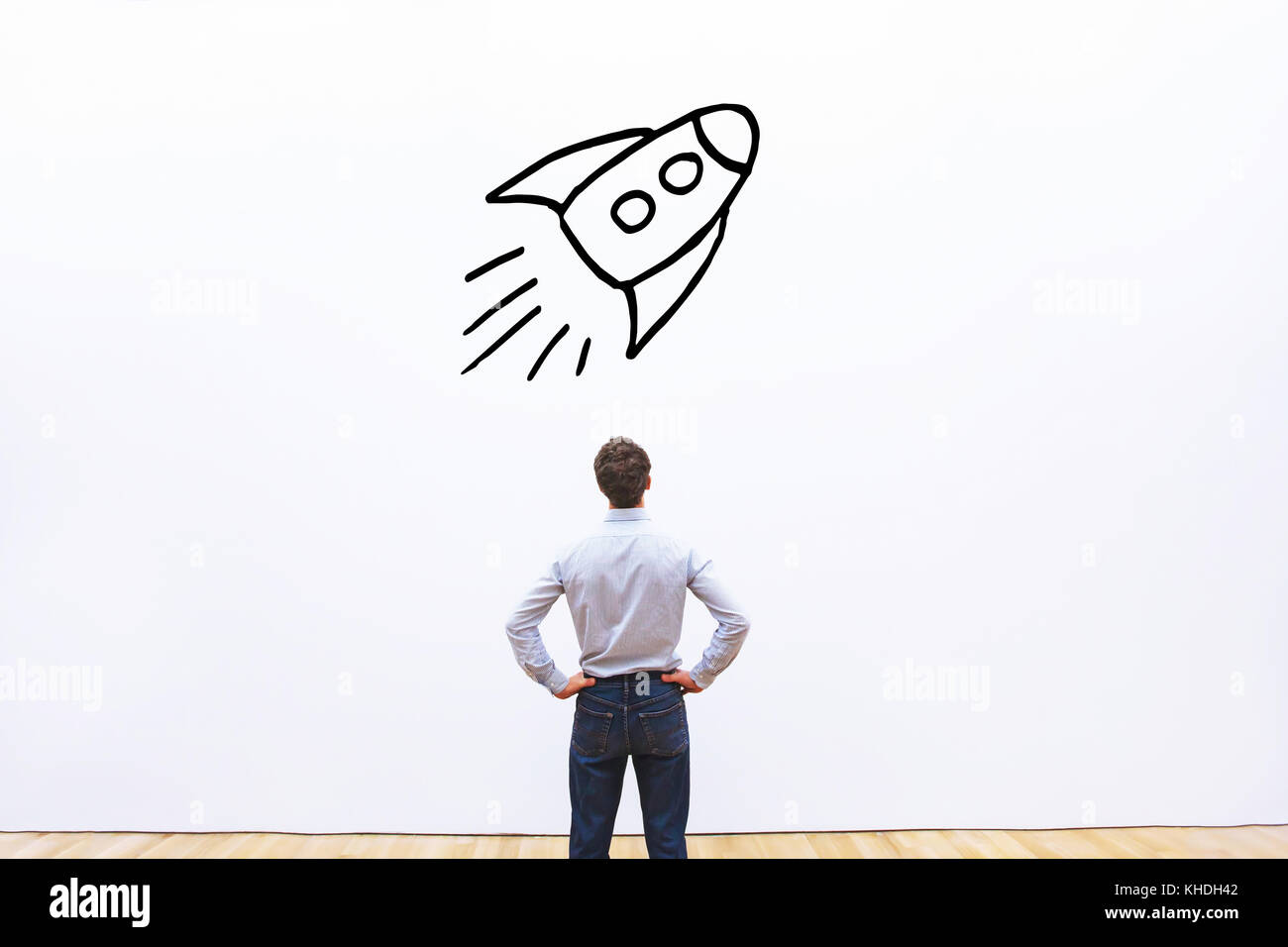 startup business project concept - Stock Image