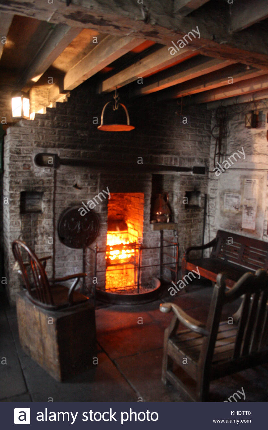 Cooking Fire Hearth - © Doc Braham; All Rights Reserved - Stock Image