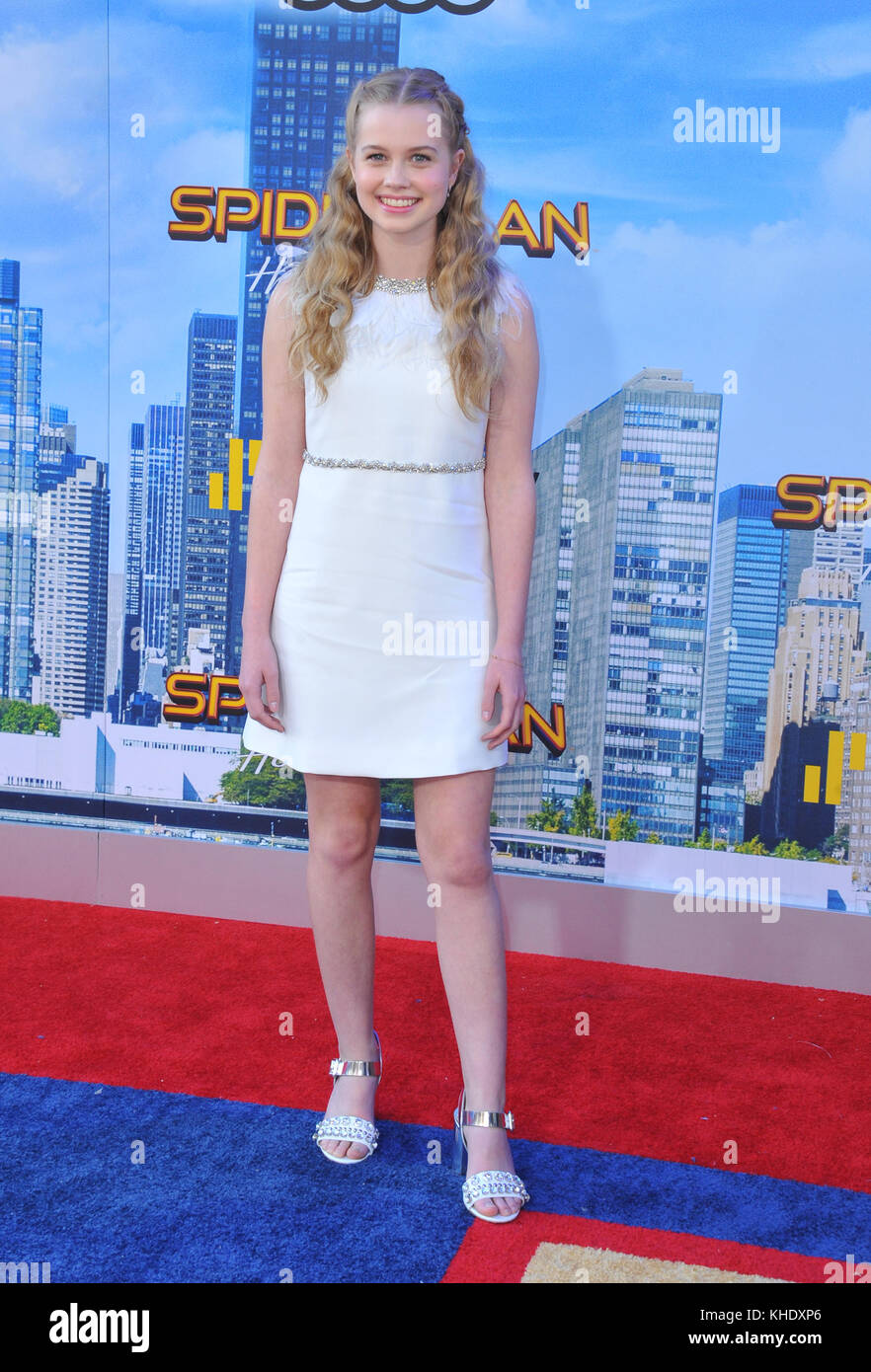 Angourie rice spider man homecoming premiere in hollywood - 2019 year