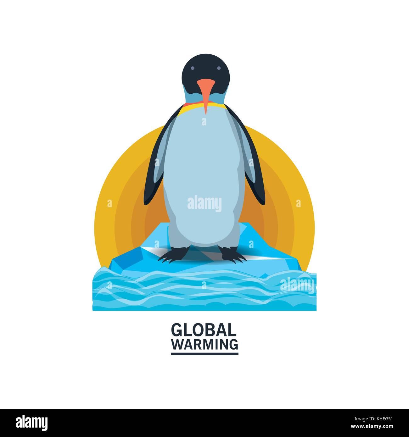 global warming design  - Stock Image