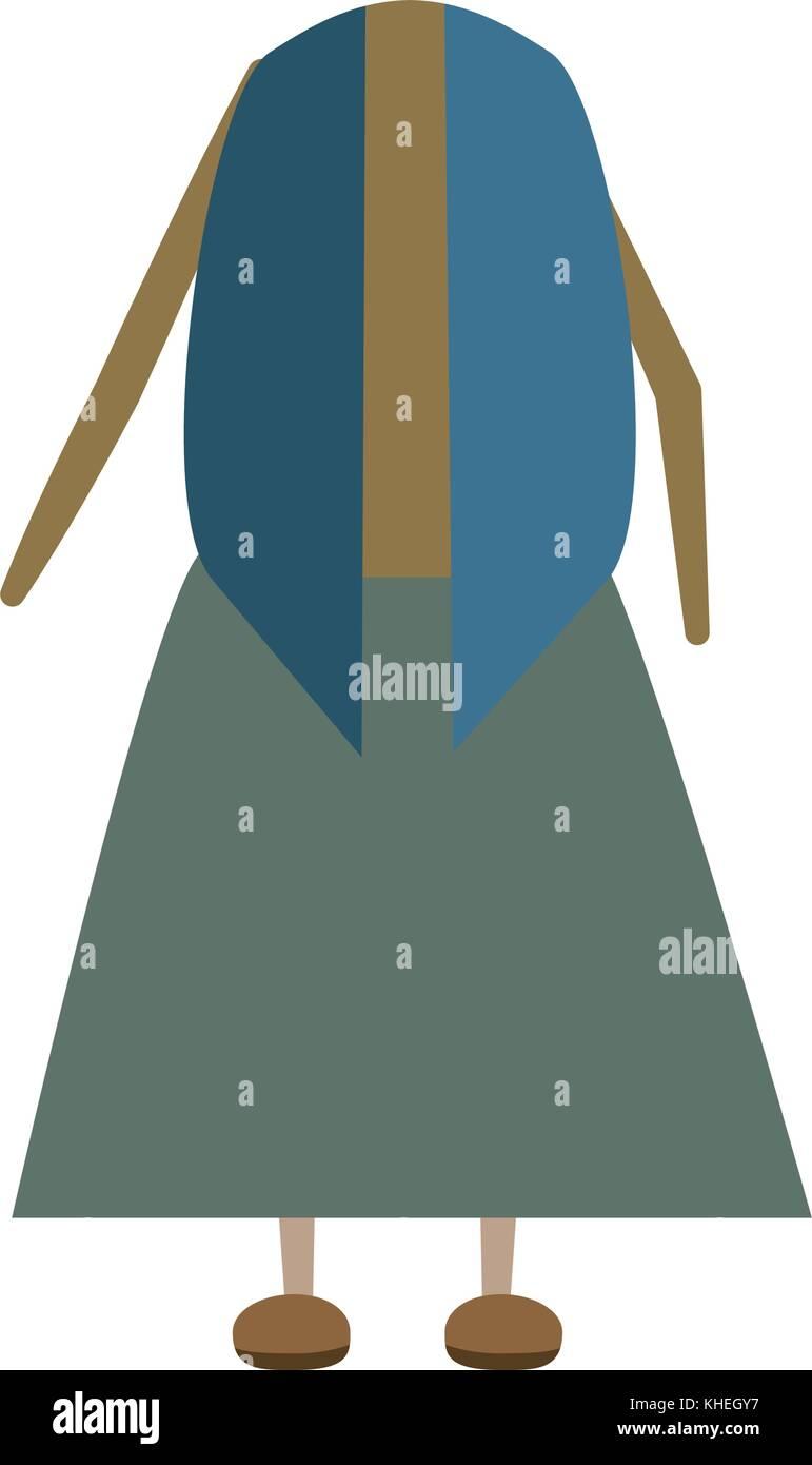 clothing for seniors - Stock Vector