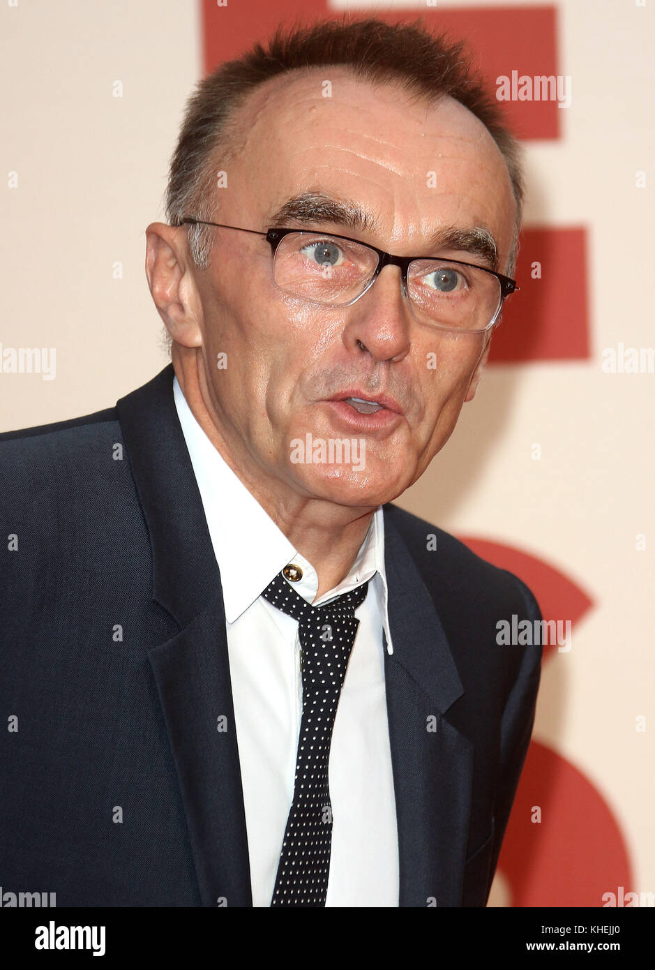 Oct 07, 2017 - Danny Boyle attending 61st BFI London Film Festival - 'Battle of the Sexes' European Premiere, - Stock Image