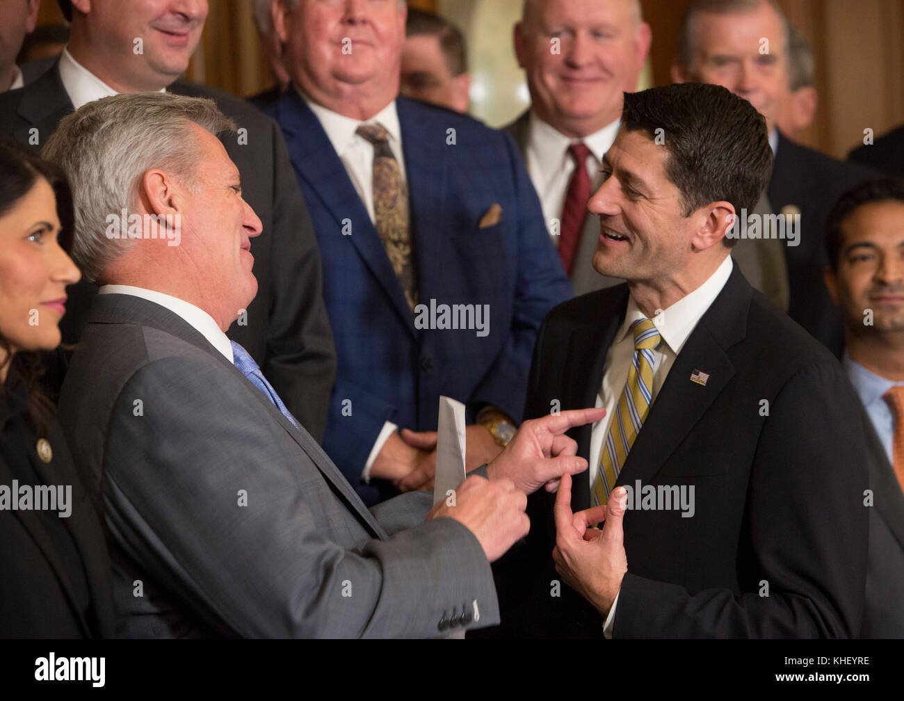 House Majority Leader Kevin McCarthy(left), Speaker Of The House Paul Stock  Photo: 165671618   Alamy